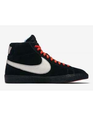 "Nike Blazer Mid ""NYC Editions"" Noir/Bleu-Orange AT9978-001"