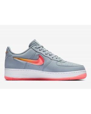 new arrivals 6529f ad0c2 Nike Air Force 1 Jewel Bleu Hot Punch-Rouge AT4143-400 ...
