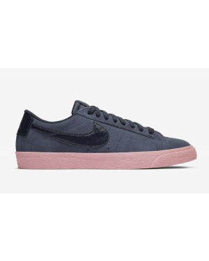 Nike SB Blazer Low Bleu/Bleu-Bubble Gum 864347-402