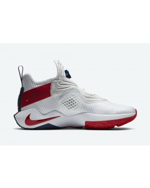 LeBron Soldier 14 - Blanche/Rouge-Rouge - Nike - CK6024-100