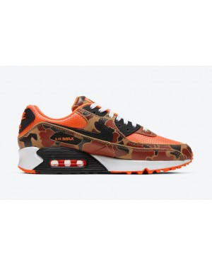 "Nike Air Max 90 ""Orange Camo"" Orange CW4039-800"