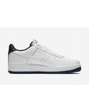 "Nike Air Force 1 Low ""Puerto Rico"" Blanche CJ1386-100"