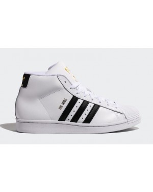 adidas Pro Model OG Blanche/Noir-Or FV5722
