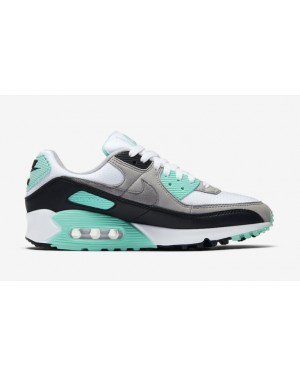 Nike Air Max 90 Blanche/Gris-Turquoise CD0490-104