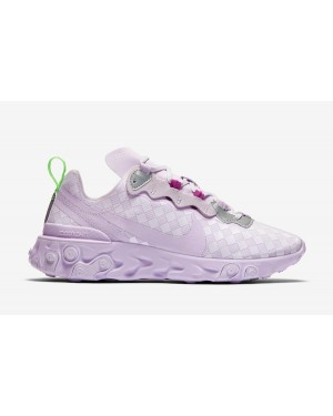 Nike React Element 55 Femme Barely Grape CN0146-500
