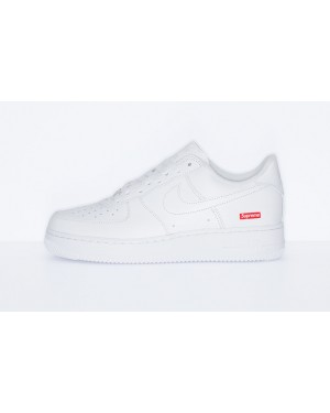 Nike Air Force 1 Low Supreme Blanche - CU9225-100