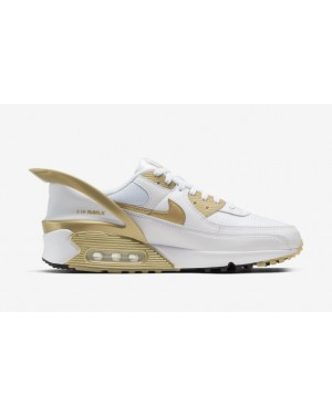 Nike Air Max 90 Flyease Blanche Or CU0814-100