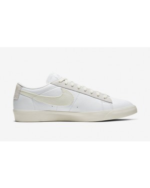 Nike Blazer Low Leather Blanche Sail CW7585-100