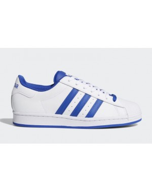 adidas Forum vs. Superstar Blanche Bold Bleu FV8272