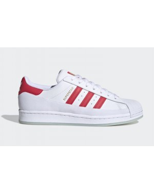 adidas Superstar MG Blanche Rouge FV3031