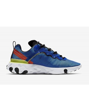 Nike React Element 55 Bleu BQ6166-403