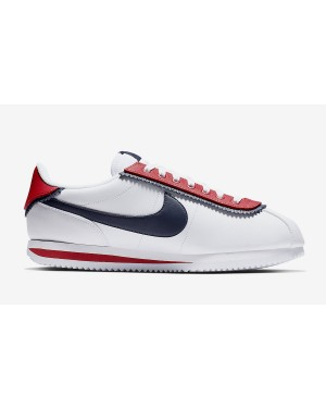 Nike Cortez Basic SE Blanche Rouge CD7253-100