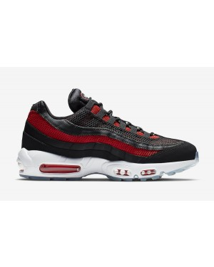 Nike Air Max 95 Essential (Noir/Rouge) - 749766-039