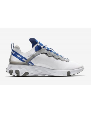 Nike React Element 55 Blanche Royal Rouge CD7340-100