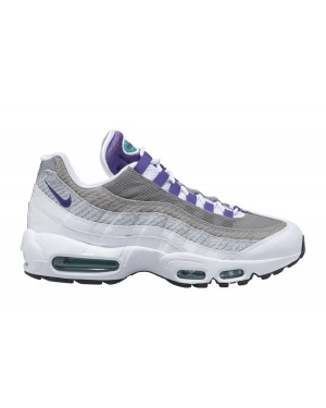 Nike Air Max 95 LV8 (Blanche/Violet/Vert) AO2450-101