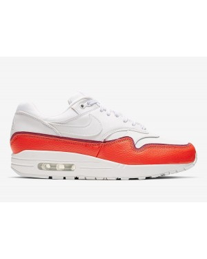 Nike Femme Air Max 1 SE Blanche/Rouge | 881101-102