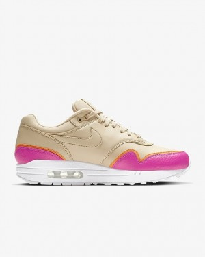 Nike Air Max 1 Marron Rose | 881101-202