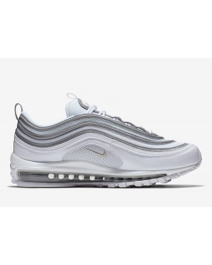 Nike Air Max 97 Blanche Reflective Argent Gris 921826-105
