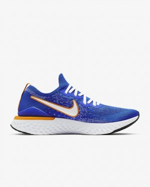 Epic React Flyknit 2 'Bleu Ribbon Sports' - Nike - CJ5228-400
