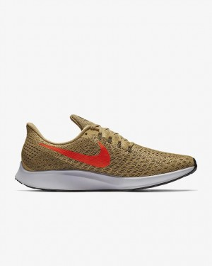 Nike Air Zoom Pegasus 35 Homme Fonctionnement Chaussure Or 942851-201