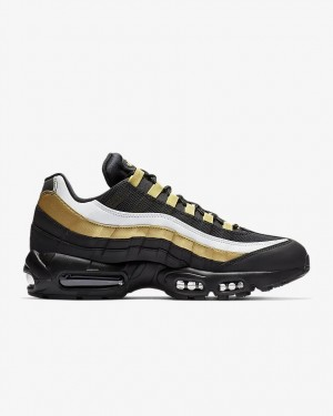 Nike Air Max 95 OG Noir/Doré/Blanche | AT2865-002