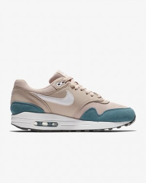Nike Femme Air Max 1 Fonctionnement Femme Chaussures Teal 319986-405