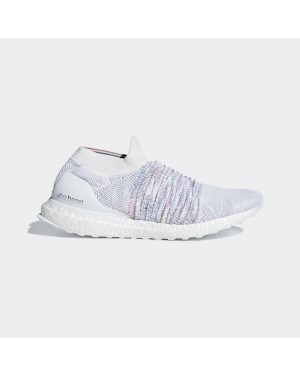 adidas UltraBOOST Laceless Blanche Multi-Color Rainbow B37686