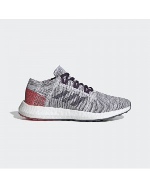 adidas Pureboost Go Chaussures Femme Blanche/Violet/Rouge B75826