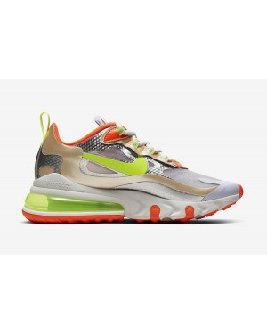 Nike Air Max 270 React Desert Ore Volt Orange - CQ0210-101