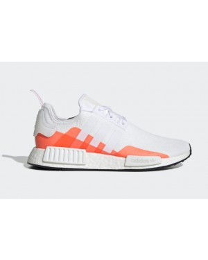 adidas NMD R1 Blanche Rouge - EE5083