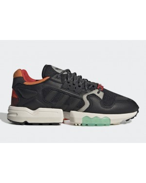 adidas ZX Torsion Noir Orange Vert - EE5553