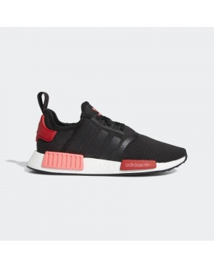 Femme Adidas NMD R1 Noir/Rouge - EH0206
