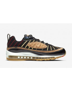 "Nike Air Max 98 ""New Years"" Noir CT1173-001"