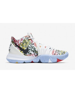 "Nike Kyrie 5 ""Keep Sue Fresh"" Blanche CW2771-100"