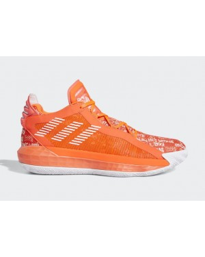 """Dame 6 """"Hecklers"""" Rouge/Blanche-Rouge - FU6808 - Adidas"""