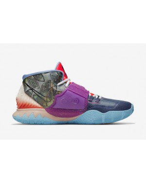 "Kyrie 6 Pre-Heat ""Heal The World"" Bleu/Noir-Marine-Noir - CN9839-403 - Nike"
