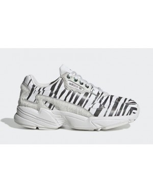 "Falcon ""Animal Pack"" Blanche/Noir - FV4049 - Adidas"