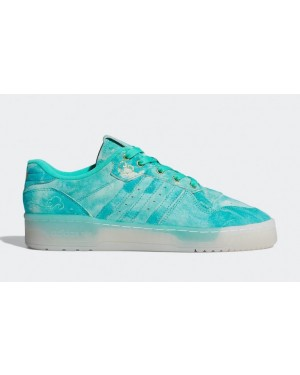 Rivalry Low Vert/Blanche-Or - FV4523 - Adidas
