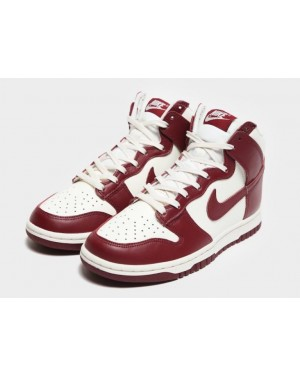"""Nike Dunk High """"Rouge"""" Sail/Rouge-Pale Ivory DD1869-101"""