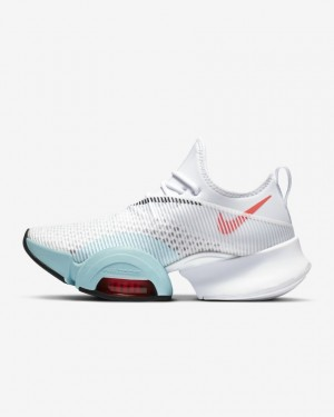 Nike Air Zoom SuperRep BQ7043-167 Blanche/Flash Crimson/Glacier Ice/Noir