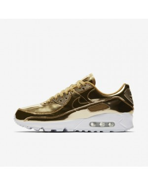 Nike Air Max 90 SP CQ6639-700 Métallique Or/Or/Blanche