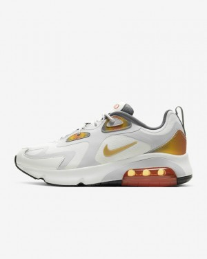 Nike Air Max 200 SE AT8507-100 Blanche/Orange/Gris