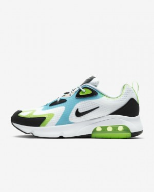 Nike Air Max 200 SE CJ0575-101 Blanche/Vert/Oracle Aqua/Noir