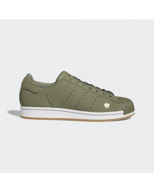 Adidas Superstar Pure FZ2146 Vert/Blanche/Or Métallique