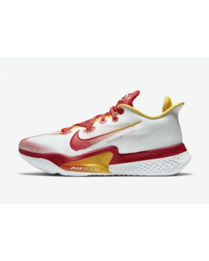 "Nike Air Zoom BB NXT ""China"" DB5988-100 Blanche/Rouge/Jaune"