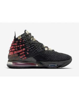 "Nike LeBron 17 ""Courage"" CD5054-001 Noir/Rouge"