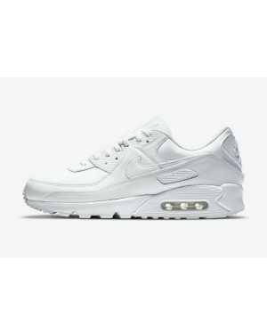 "Nike Air Max 90 Leather ""Triple Blanche"" CZ5594-100 Blanche/Blanche-Blanche"