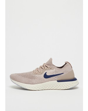 Nike Fonctionnement Epic React Flyknit Marron/Bleu/Beige AQ0067-201