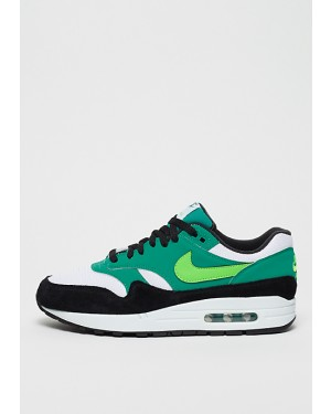 uk availability 67289 13ae2 Nike Air Max 1 Blanche Vert Vert Noir AH8145-107 ...