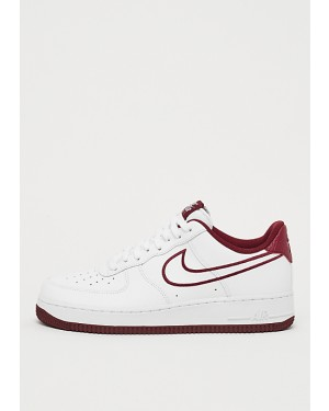 b82c5e970eb Nike Air Force 1  07 Leather Blanche Rouge AJ7280-100 ...